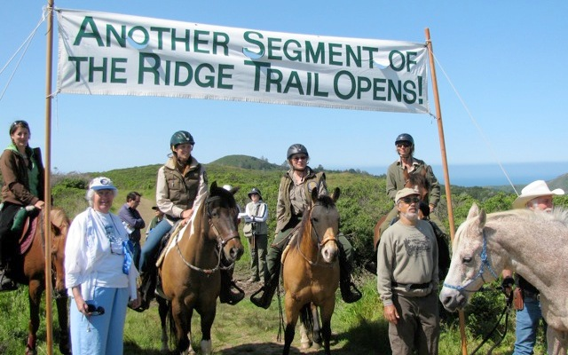 Opening ceremony of the upper Dias Ridge
